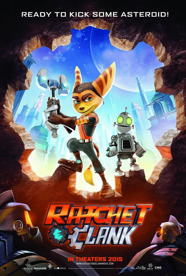 Ratchet & Clank Poster 2014